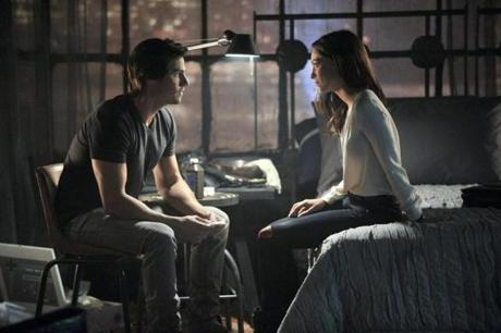 "Jay Ryan and Kristin Kreuk in the CW drama ""Beauty and the Beast."""